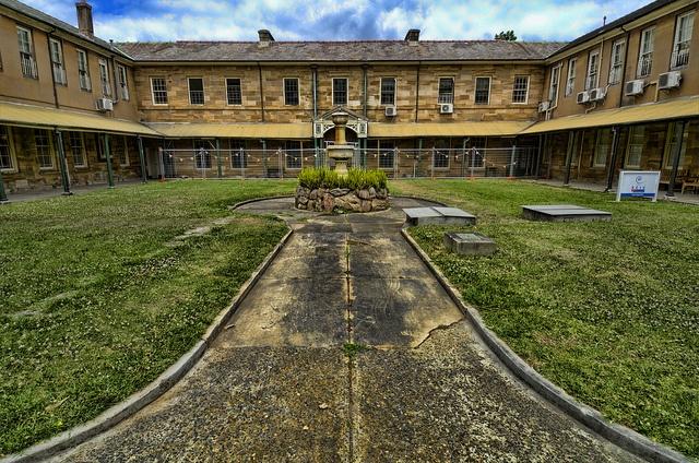Tarban Creek Lunatic Asylum. Later Gladesville Hospital, Sydney. The grounds of Gladesville Hospital, Victoria Road, Gladesville NSW. #Gladesville #Hospital #Mental #Asylum #VictoriaRoad #RydeLocal #CityofRyde