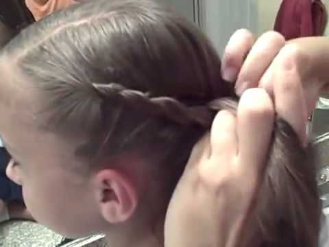 Wrap-Around Twist Side Ponytail | Cute Girls Hairstyles - YouTube