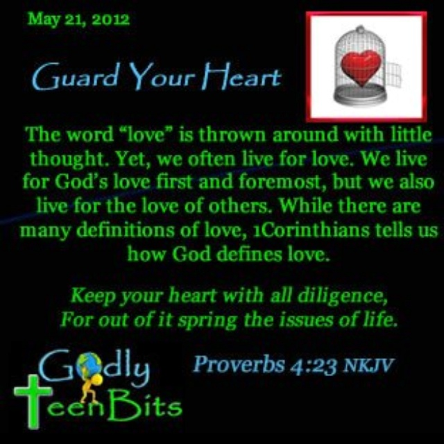 guarding your heart while dating