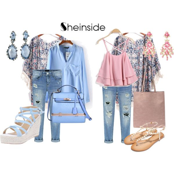 pink and blue by baebaoni-bijoux on Polyvore featuring moda, Valentino and Alexis Bittar
