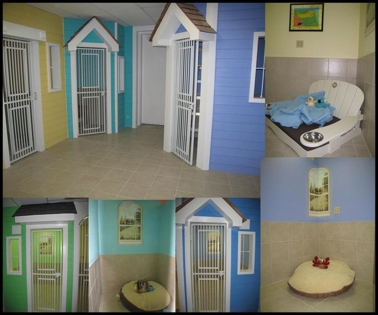 Omg so cute kennel ideas dog kennel pinterest for House plans with pet rooms