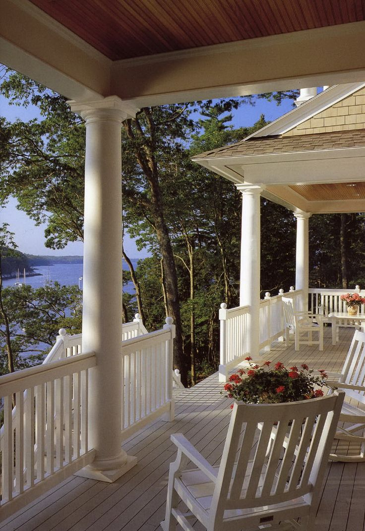 Gorgeous porch and view 244 best Porch