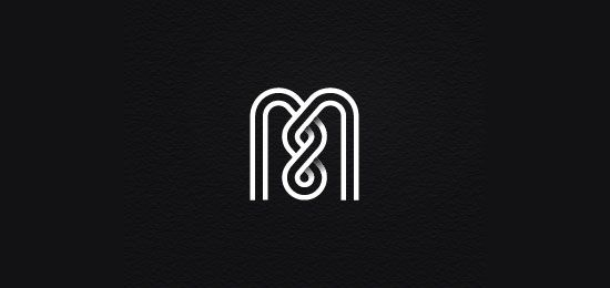 M8 monogram by MnaCreative