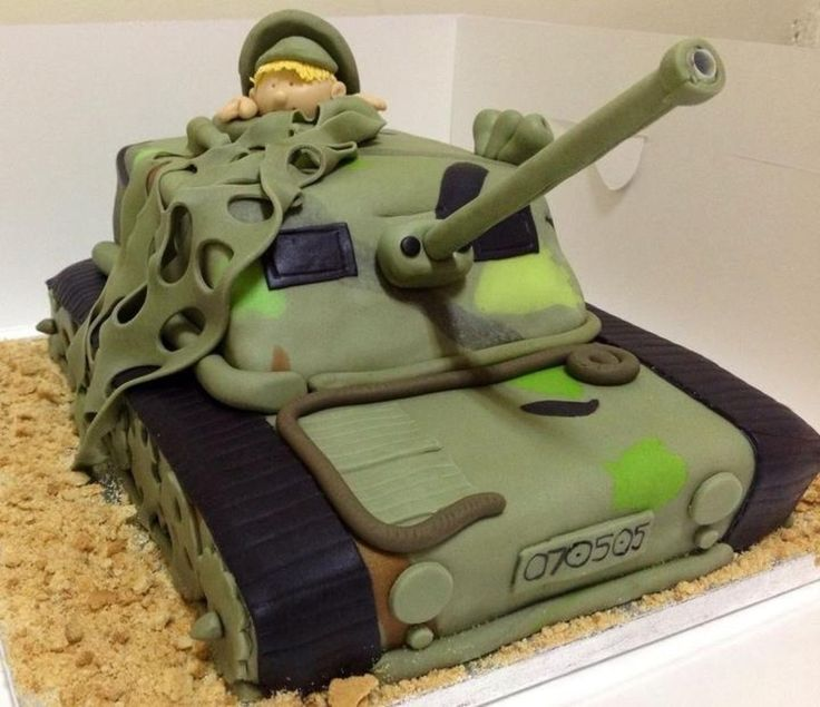 ... Army Tank Cake on Pinterest  Military cake, Army cake and Army