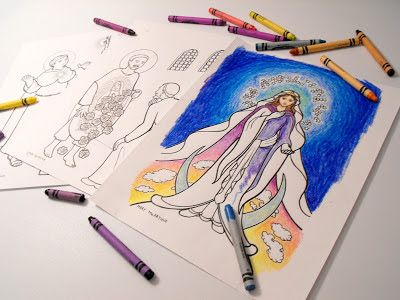 Sketches and Subcreations: Liturgical Calendar Coloring Book