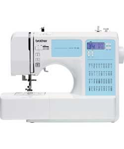 Brother FS40 Sewing Machine with Extension Table - White.