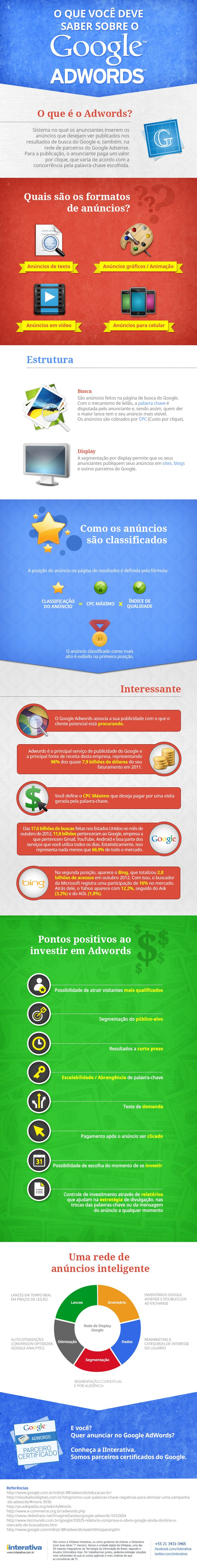 Descubra como funciona o Google Adwords. #SocialMedia #Adwords #infographic