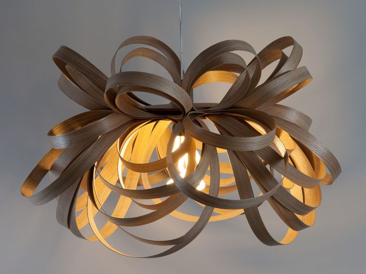 LAMPADARIO FATTA A MANO IN LEGNO BUTTERFLY BY TOM RAFFIELD | DESIGN TOM RAFFIELD