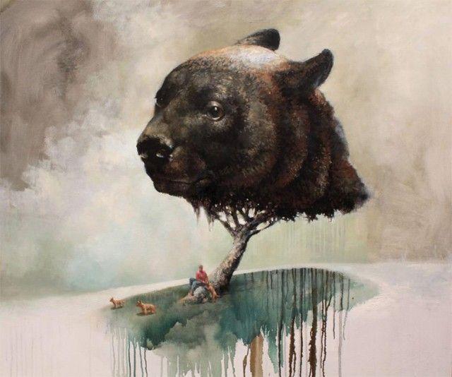 Surreal Paintings by Samuli Heimonen