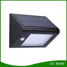 Mur monté Jardin Rue Lumière Chaude 20 LED Sensible Motion Sensor Solaire Wall Light avec Ce RoHS