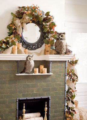 Start getting your living rooms set for beautiful fall decor.