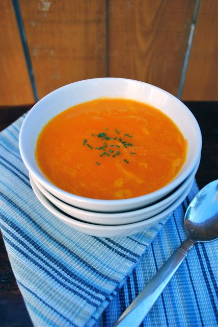 The Silver Palate's Carrot and Orange Soup