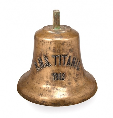 Ships bell. According to White star Line The 3rd Class Irish that perished is as follows: 45 men,(85%)22 women(40%) and all the children.  Sad.