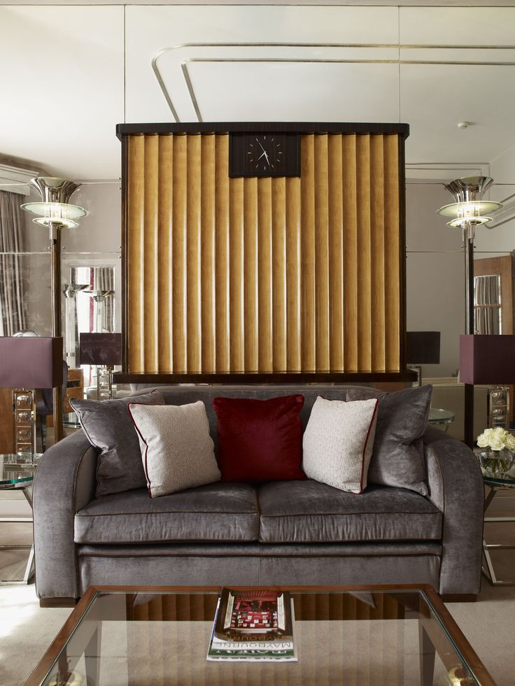 Interiordesign claridges linley