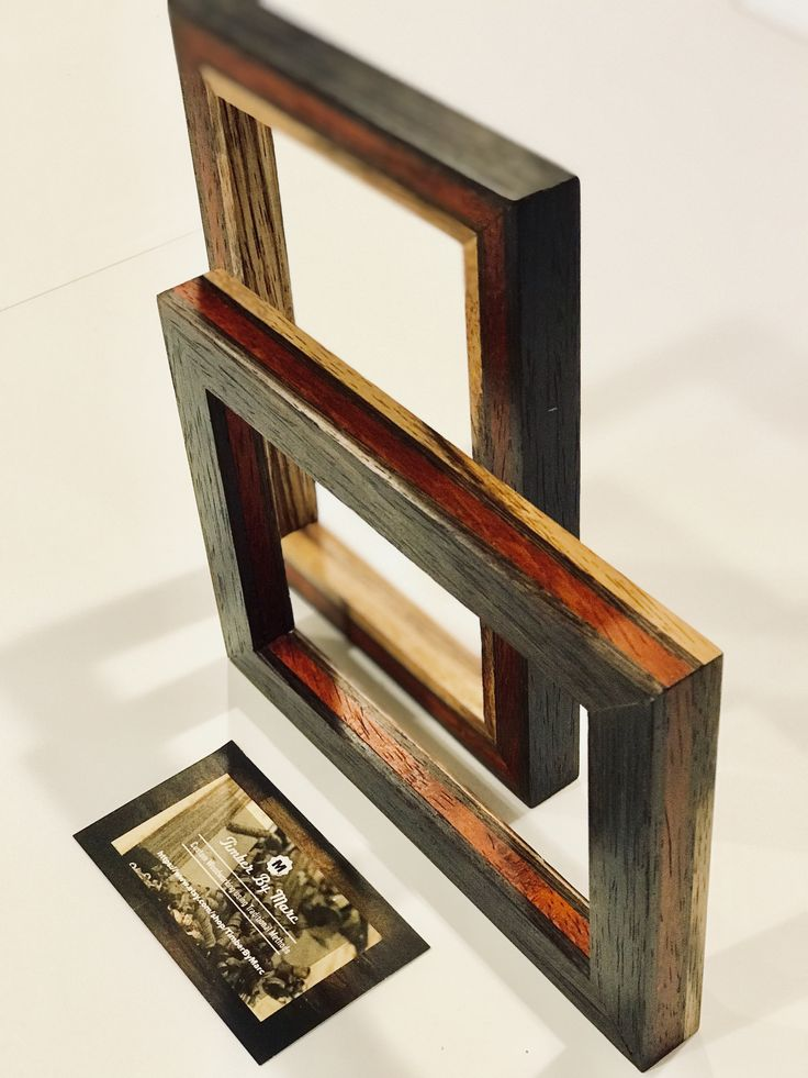 Hermosa Exotic Wood Picture Frames Ornamento - Ideas Personalizadas ...