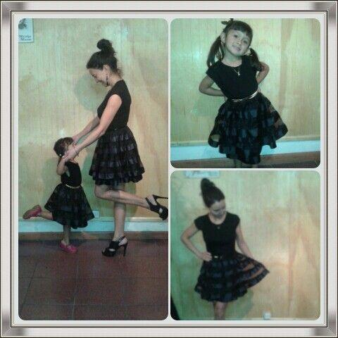 Arriendo de vestidos de fiesta para mamá e hija #amordemamá #vestidos #fiesta #arriendo www.laragala.cl