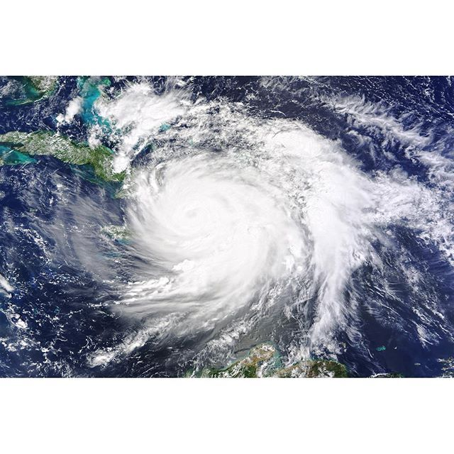 Hurricane Matthew Hits Haiti  On October 4, 2016, Hurricane Matthew made landfall on southwestern Haiti as a category-4 storm—the strongest storm to hit the Caribbean nation in more than 50 years. Just hours after landfall, the Moderate Resolution Imaging Spectroradiometer (MODIS) on NASA's Terra satellite acquired this natural-color image. At the time, Matthew had top sustained winds of about 230 kilometers (145 miles) per hour.  Earlier on October 4, temperature data collected by MODIS on…