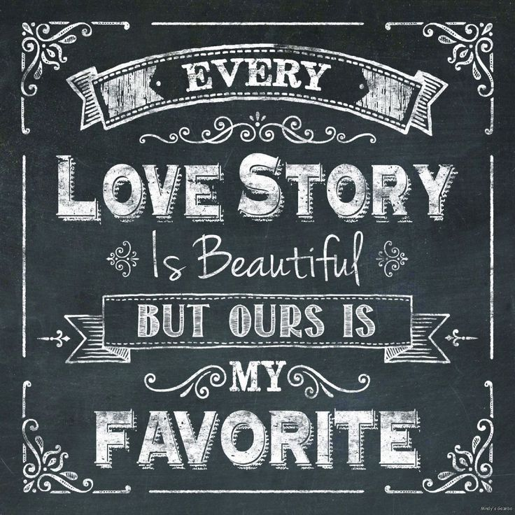 Every Love Story Is Beautiful Ours Is Favorite Chalkboard Sign Primitive Decor | eBay
