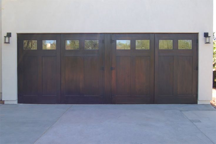 Could I Faux Finish My Garage Doors Like This Walls Of