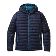 Patagonia - Down Sweater Hoody Hombre Navy Blue