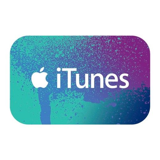 iTunes Codes. Perfect for anyone who enjoys apps, games, music, movies, TV shows, books, and more. Use iTunes Codes on the App Store, iTunes Store, the iBooks Store and the Mac App Store in just a few clicks. Choose the place to enjoy: iPhone, iPad, iPod, Apple TV, Mac, or PC. Code cannot be used for any payments outside of the U.S. iTunes Store, including taxes.<br><br>Terms and Conditions<br>Valid only on purchases made in the U.S. from the U.S. iTunes Store. Use requires ...