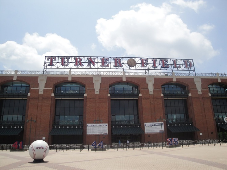 Turner Field in Atlanta - Home of the Atlanta Braves