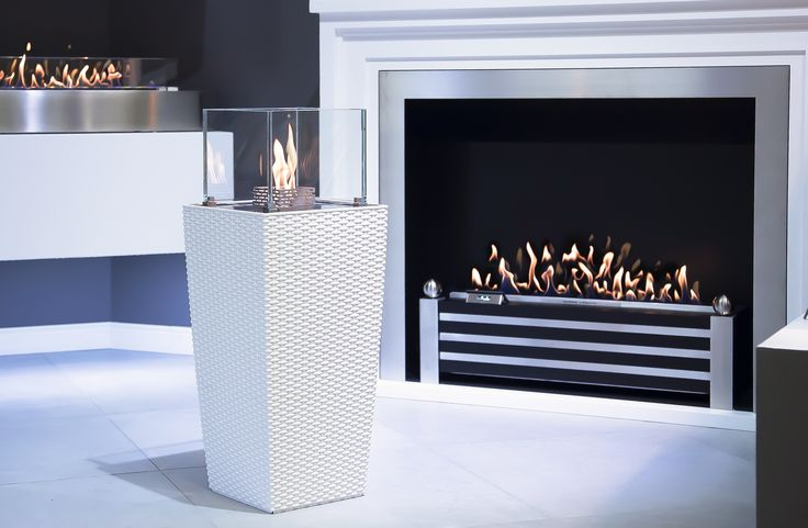 decoflame®Nice/ Westminster bio-ethanol fireplace