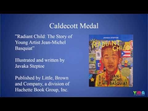 This video shows a brief history of the recent Caldecott Medal Award winners, honorees, and nominations. While the majority of the authors and book covers shown (that feature human rather than animal characters), are white, there are also notably a few hispanic writers and characters, and an interracial family. #observation