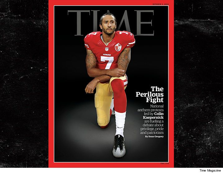 Colin Kaepernick on time magazine cover