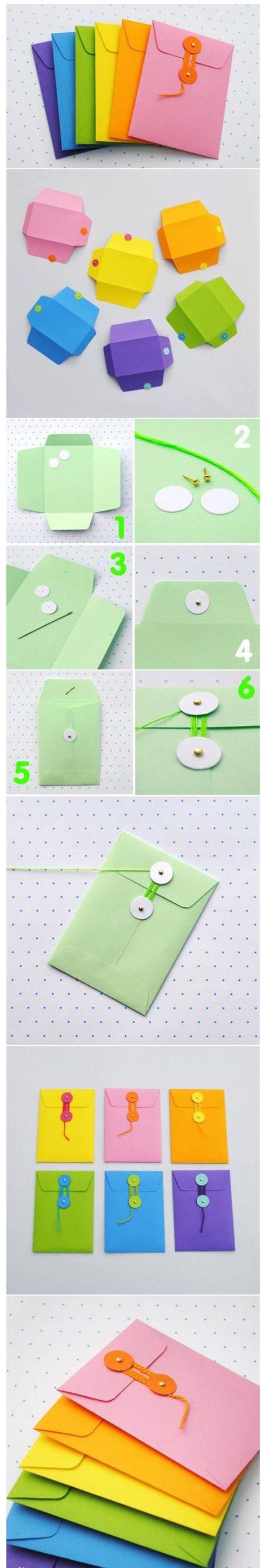Diy Colorful Envelope | DIY & Crafts Tutorials