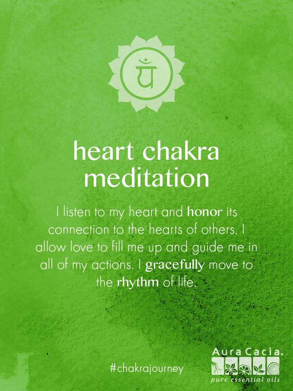 Heart Chakra Meditation More