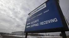 The former Electro-Motive Canada plant in London on March 06, 2013. In 2012 Caterpillar shut down its London locomotive plant, and has now announced the closure of its London rail locomotive office, laying off 50 workers. (Deborah Baic/The Globe and Mail)