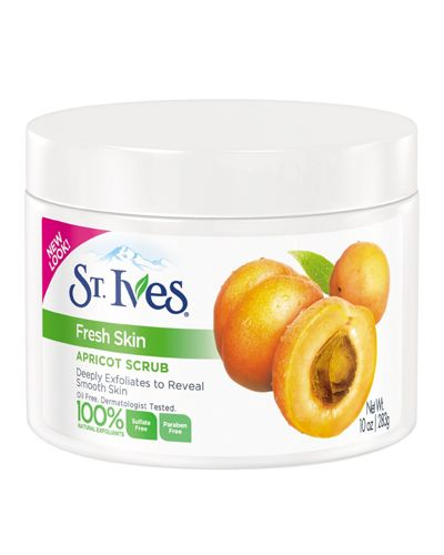 This scrub isn't fancy, but it gets the job done, getting deep into pores and exfoliating both face and body. It's also a steal, coming in at under $10 at drugstores. Fresh Skin Apricot Scrub, $5.29; drugstore.com.