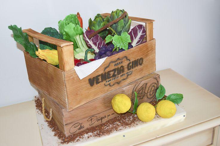 Cake Designer per caso [Healthy vegetable cake]