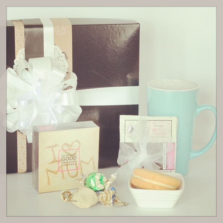 Tea for One hamper for Mothers Day! Order from The Pressie Box - www.thepressiebox.co.nz