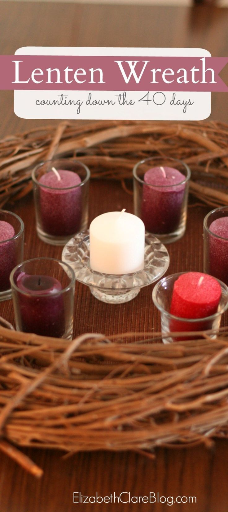 A simple ways to count down the days to Easter a great family and kid activity for Lent.