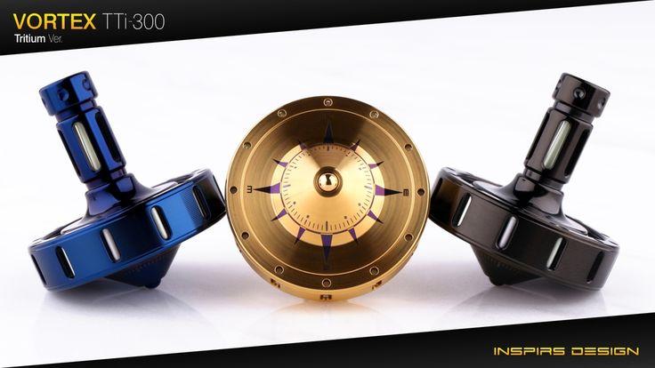 TTi-300 Titanium Spinning Top project video thumbnail