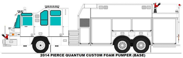 2014 Pierce Quantum Custom Foam Pumper (Base)
