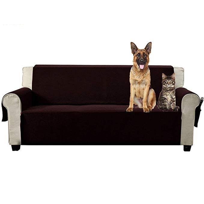 Aidear Anti-Slip Sofa Slipcovers Jacquard Fabric Pet Dog Couch Covers  Protectors (Sofa 7775b7eaf6f0