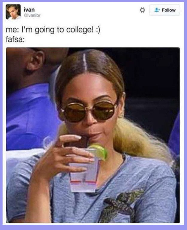 When you realize FAFSA is just waiting in the darkness to stomp on your hopes and dreams: | 19 Pictures About Student Loans That'll Make You Laugh, Then Cry