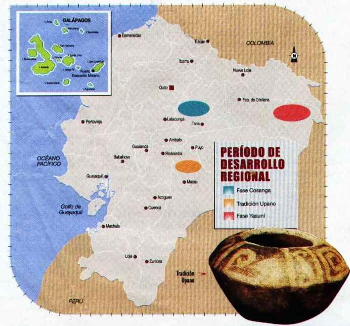 PERÍODO DE DESARROLLO  REGIONAL.  300 A.C. -  800 DC.