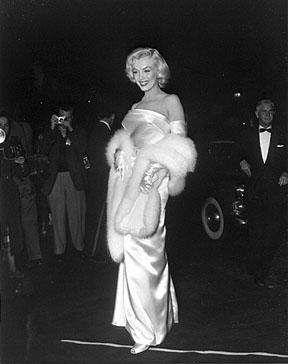 Marilyn Monroe 1953 premier of Call Me Madam