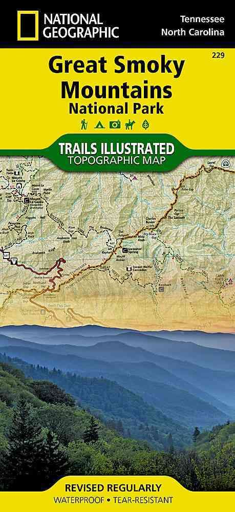 National Geographic Great Smoky Mountains National Park : Tennessee, North Carolina: Trails Illustrated T...