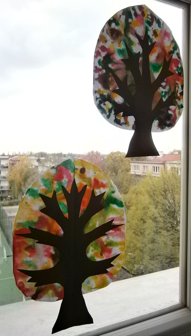 Podzimní stromy - detail.