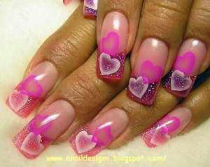 valentine nail art ideas
