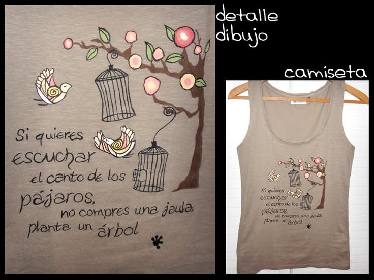 gekko art camisetas pintadas a mano: abril 2011