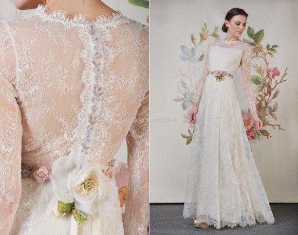 Collezione abiti da sposa primavera/estate 2014 Claire Pettibone
