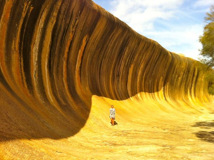 Wave Rock, WA Australia   Amazing road trip!