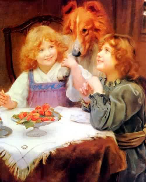 High Expectations | Arthur John Elsley | oil painting