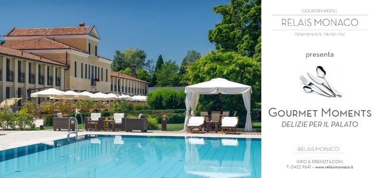 Relais Monaco presents Gourmet Moments, a unique journey through flavors and sweetnesses of our local specialties.